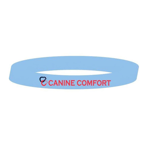 Canine Comfort blue wrist band